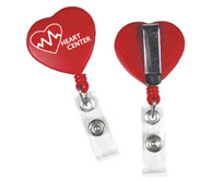Heart Clip Badge Reel